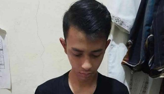 Pelaku begal payudara di Cipinang, Jakarta Timur.
