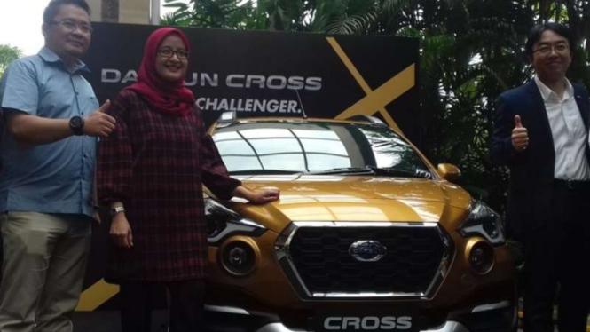 Datsun Cross diperkenalkan di Yogyakarta.
