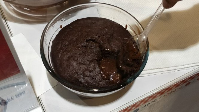 Steamed Chocolate Cake ala Chef Abboud