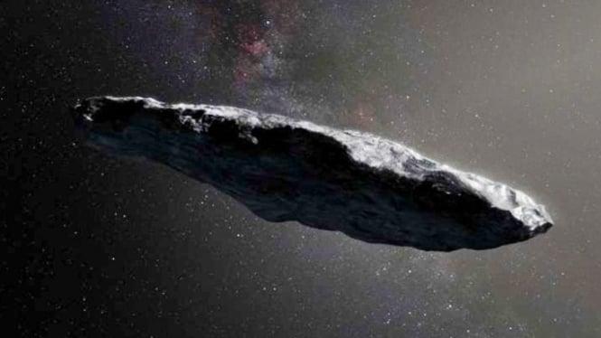 Asteroid Oumuamua.