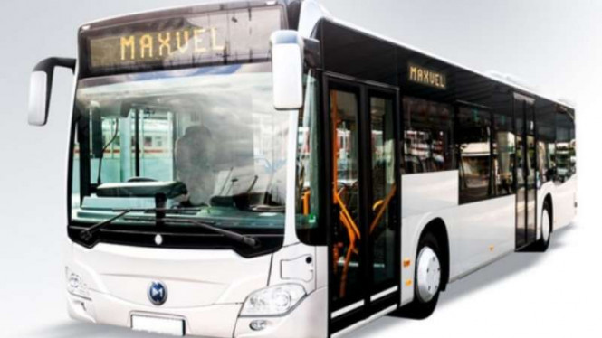 Bus listrik Maxvel