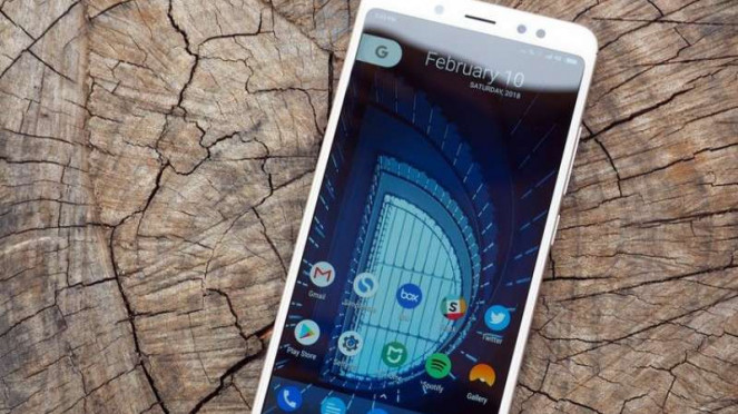Xiaomi Redmi Note 5 Pro.