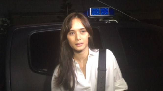 Renata Kusmanto di Polres Jakarta Selatan