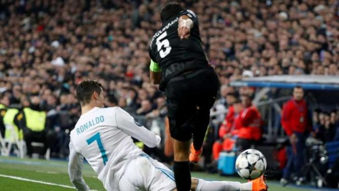 Liga Champions, Real Madrid vs PSG