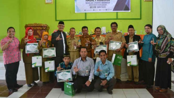 Sekolah Literasi Indonesia Dompet Dhuafa.