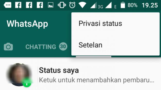 Cara hemat kuota di WhatsApp