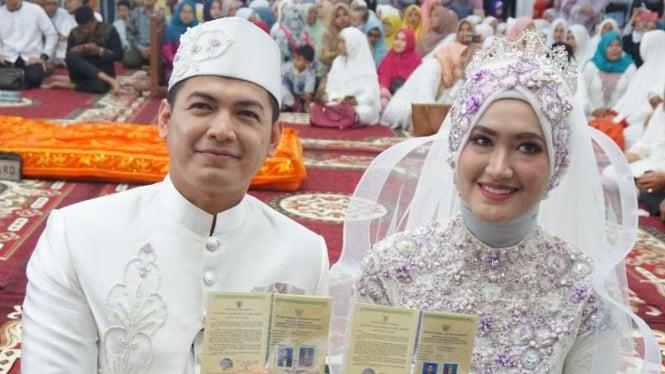 Tommy Kurniawan nikahi pramugari cantik asal Aceh bernama Lisya Nurrahmi.