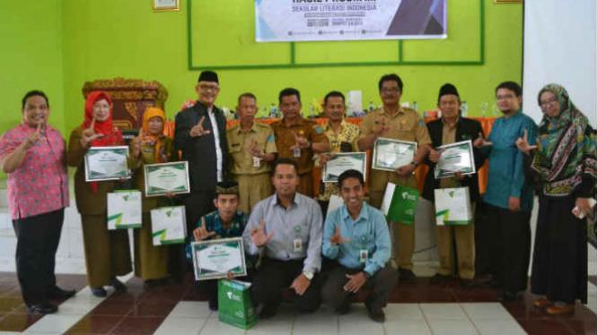 Capaian Hasil Program Pendampingan Konsultan Relawan Sekolah Literasi Indonesia.
