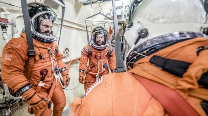 Ilustrasi astronot.