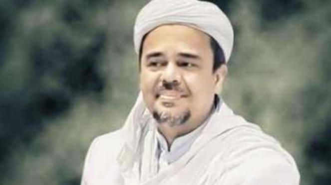 Imam Besar FPI Habib Rizieq Shihab.