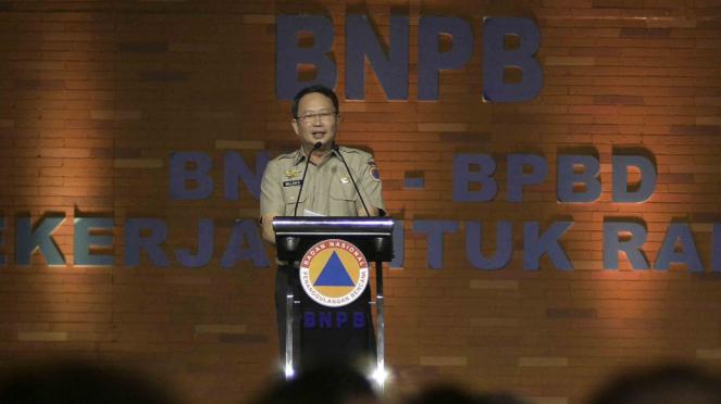 Kepala Badan Nasional Penanggulangan Bencana (BNPB), Willem Rampangilei