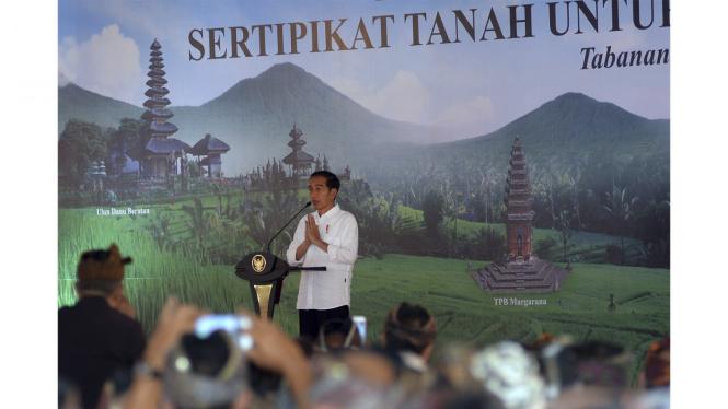 Soal Tanah Rakyat, Jokowi Ingatkan Jangan Dijual Ke Taipan