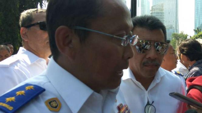 Direktur Jenderal Perhubungan Darat Kementerian Perhubungan, Budi Setiyadi