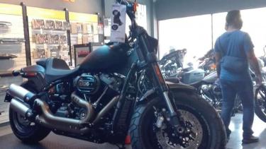 Moge yang dijual di Anak Elang Harley Davidson.