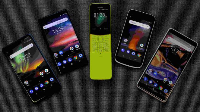 Deretan ponsel baru Nokia