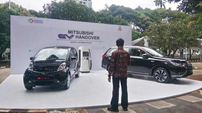 Mobil listrik sumbangan Mitsubishi