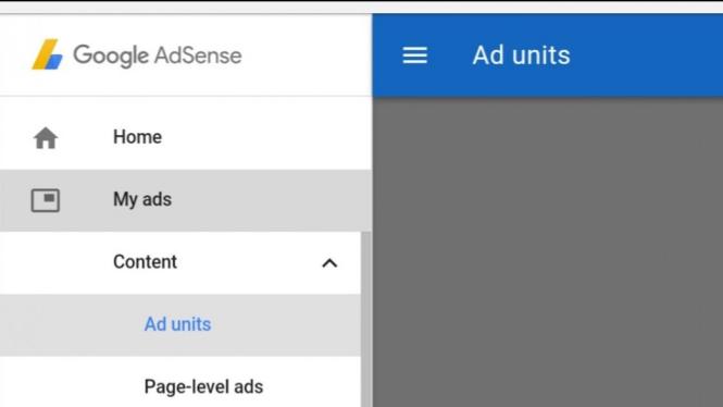 Dashboard Google Adsense.