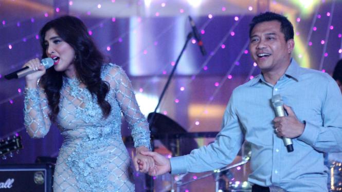 Pasangan penyanyi Anang dan Ashanty