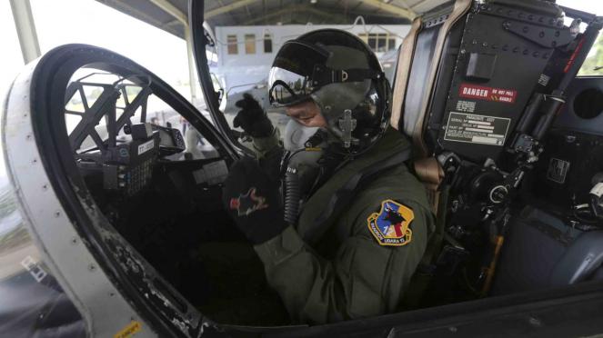Alutsista pesawat tempur Hawk 100/200