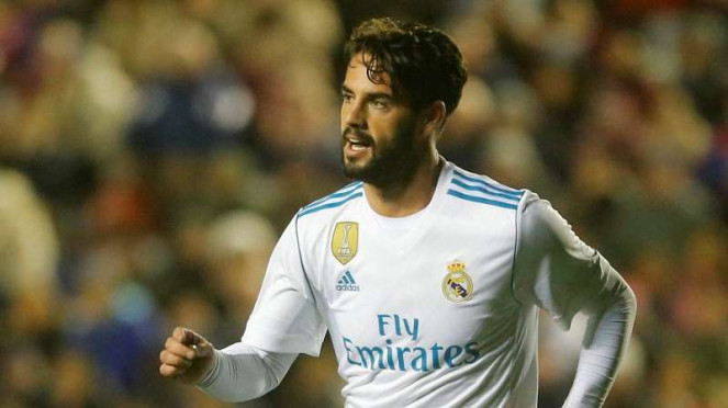 Gelandang Real Madrid, Isco