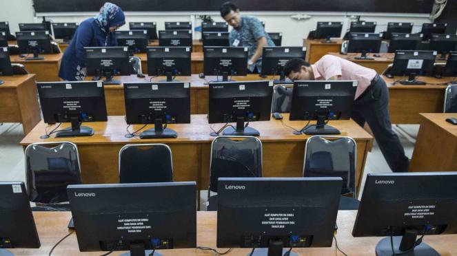 Persiapan Ujian Nasional Berbasis Komputer (UNBK) di Bandung