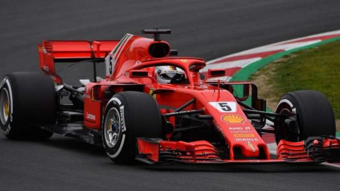 Pembalap Ferrari, Sebastian Vettel