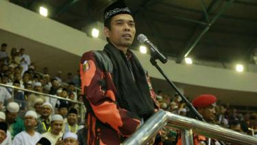 Ustaz Abdul Somad saat ceramah di Riau beberapa waktu lalu.