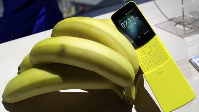 Unik, Bentuk dari Nokia Pisang 8110.
