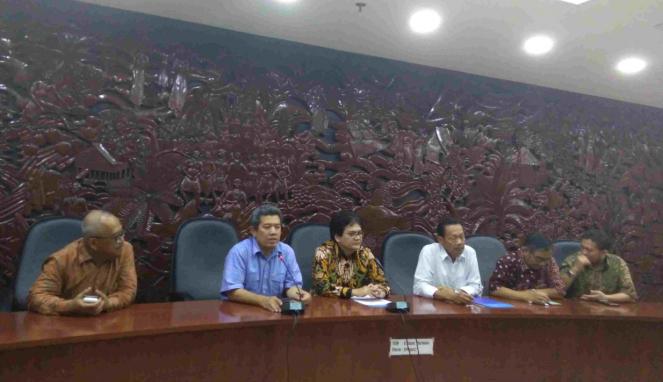 Konferensi pers Kominfo soal pemblokiran bertahap
