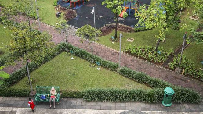 Ruang Terbuka Hijau (RTH) di Jakarta.