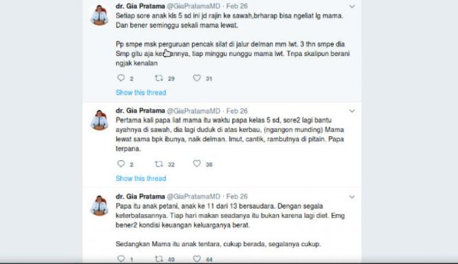 Twitt dr. Gia Pratama