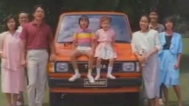 Iklan Jadul Mobil Kijang 1986.