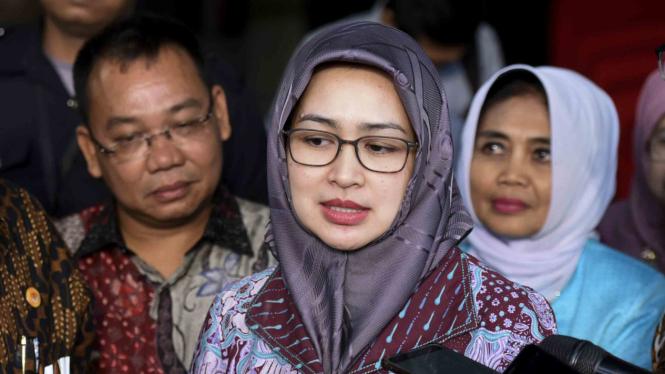 Ketua Asosiasi Pemerintah Kota Indonesia Apeksi Airin Rachmi Diany Wali Tangerang Dikenal Istri