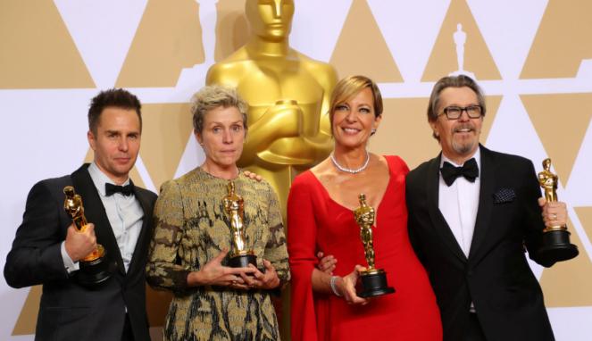Para pemenang Oscar 2018
