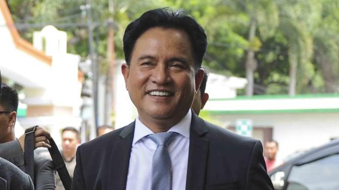 Yusril Beberkan Materi Pemantapan Jokowi-ma'ruf Hadapi Debat Pilpres