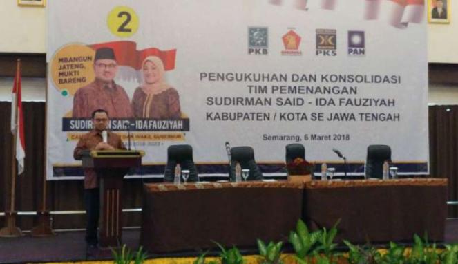 Pengukuhan dan konsolidasi Tim Pemenangan Sudirman Said-Ida Fauziyah.