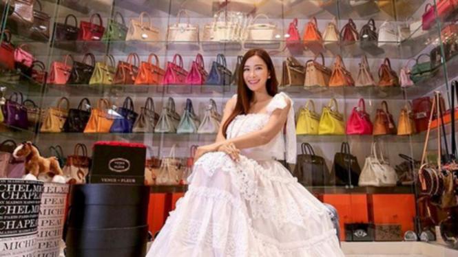Jamie Chua dan koleksi tas Hermes
