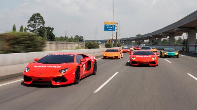 Lamborghini Club Indonesia.