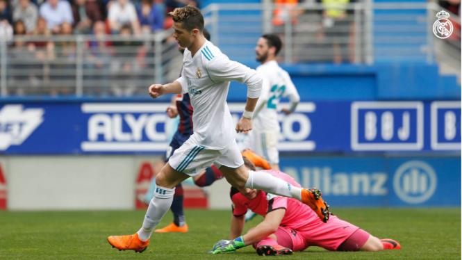 Laga LaLiga, Eibar kontra Real Madrid