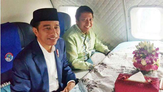 Presiden Jokowi dan Ketua Umum PPP Romahurmuziy