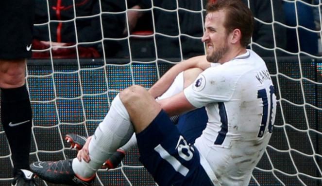 Bomber Tottenham Hotspur, Harry Kane, alami cedera engkel