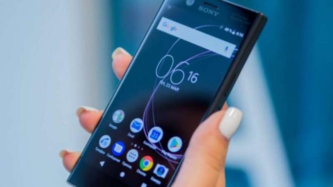Sony Xperia XZ2.