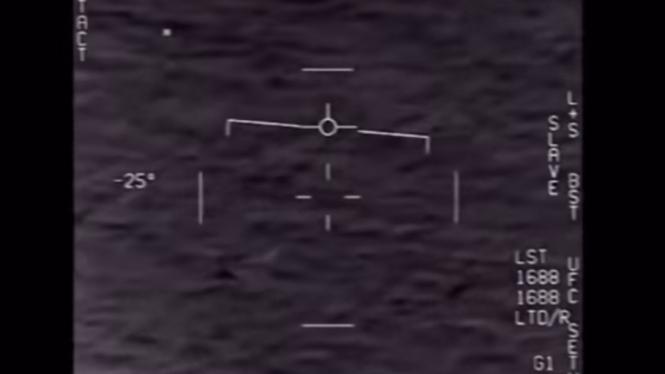 Penampakan UFO terdeteksi militer AL Amerika Serikat (AS).