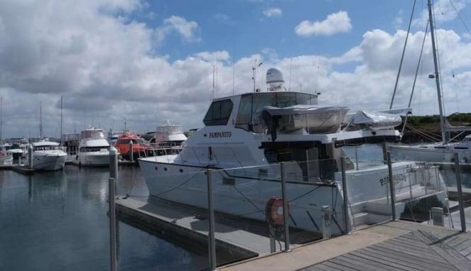 Kapal pesiar pribadi yacht di Queenscliff Australia
