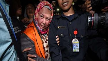 KPK tahan hakim dan panitera pengganti Pengadilan Negeri Tangerang