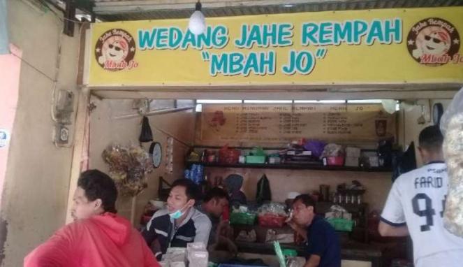 Jahe Rempah Mbah Jo yang legendaris di Semarang