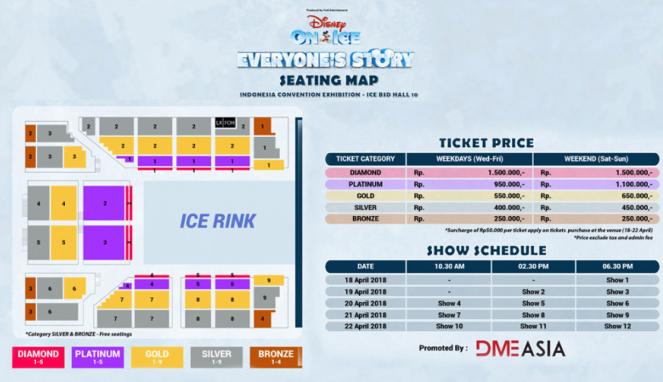 Disney On Ice Celebrates Everyone S Story Hadir Di Indonesia Viva