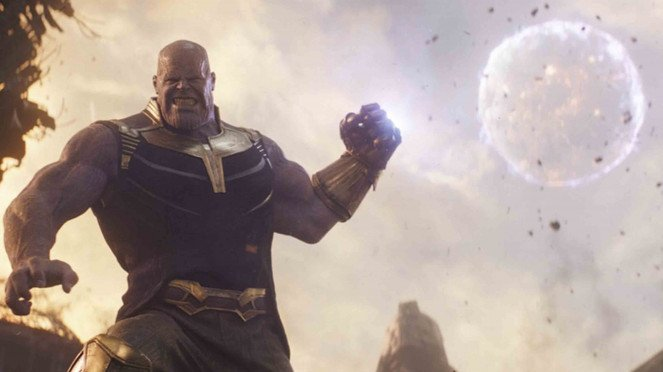 Superhero Avengers: Infinity War