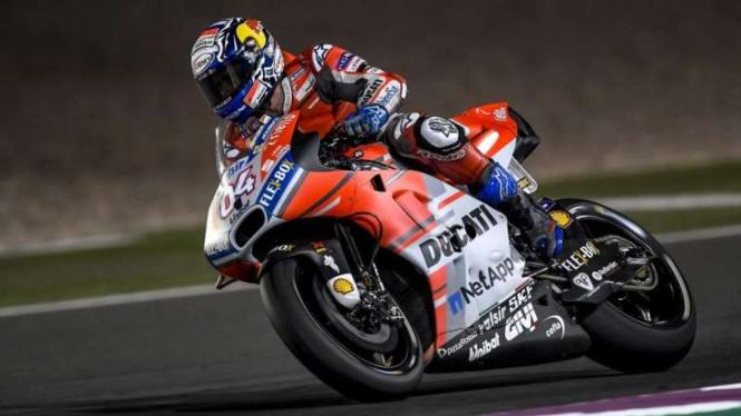 Pembalap Ducati, Andrea Dovizioso.