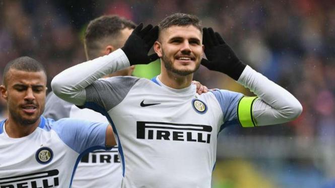 Kapten Inter Milan, Mauro Icardi.